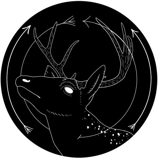 Old Gods - Cernunnos (Stamp Design)